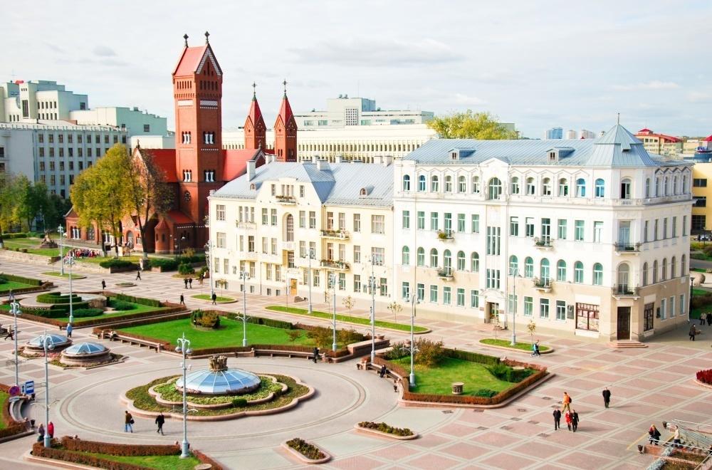 Площадь независимости Минск